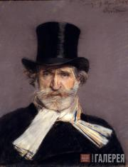 Giovanni BOLDINI (1842-1931). Portrait of Giuseppe Verdi. 1886