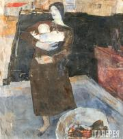 Екатерина Степановна Гаскевич. 1905–1994 Прачка. (Женщина с ребенком). 1925