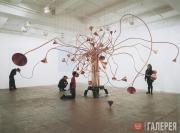 Rebecca Horn. The Tortoise Sigh Tree. 1994