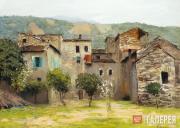 Levitan Isaaс. Near Bordighera in the North of Italy. 1890