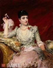 JAMES SANT. Adelina Patti. 1886
