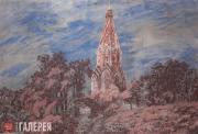 Коротаева (Синицына) Александра. Церковь Вознесения в Коломенском. 2015