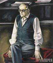 Salakhov Tahir. Portrait of Shostakovich. 1974–1976