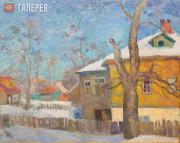 Falk Robert. Zagorsk. Sunny Day. 1955