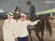"""Plastov Arkady. Illustration to """"Kholstomer"""" by Leo Tolstoy. 'Kholstomer Recogni"""
