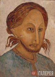 Komarovsky Vladimir. Portrait of Pavel Florensky. 1924