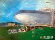 Labas Alexander. The Zeppelin. 1931