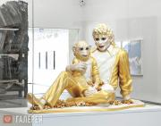 Koons Jeff. Michael Jackson and the Bubbles. 1988