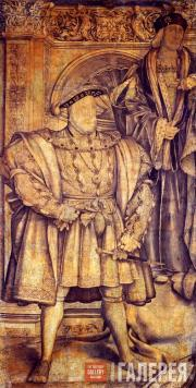 Hans Holbein the Younger. King Henry VIII. c. 1536-1537