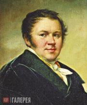Tropinin Vasily. Self-Portrait. 1820s