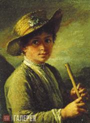 Tropinin Vasily. Boy with a Zhaleika. 1823