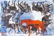 "Tsigal Sergei. Triptych ""Climbing Mount Kazbek"". 2008"