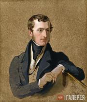 Sir George HAYTER. Philip Stanhope, 5th Earl Stanhope. 1834