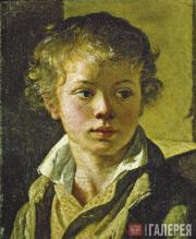 Tropinin Vasily. Portrait of the Artist's Son Arseny Tropinin. C. 1818