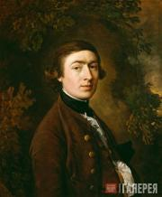 Gainsborough Thomas. Self-portrait. c. 1758-1759