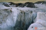 Borisov Alexander. The Pavel Tretyakov Glacier. 1899
