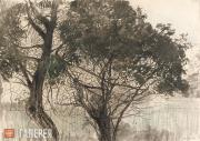 Somov Konstantin. Trees. 1897