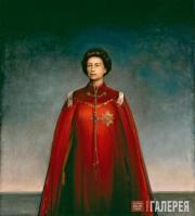 Пьетро Аннигони.  Королева Елизавета II. 1969
