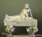 Вигеланн Густав. Саркофаг со скульптурой Генрика Ибсена. 1906