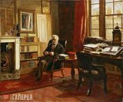Edward Matthew WARD. Thomas Babington Macaulay, Baron Macaulay. 1853