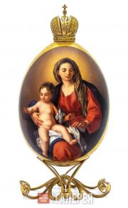 "Easter Egg ""Virgin Mary and Child"""