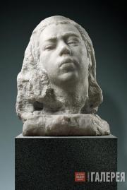 Kibalnikov Alexander. Awakening (Portrait of the Sculptor's Daughter). 1947