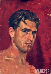 Жилинский Дмитрий. Автопортрет. Студент. 1946