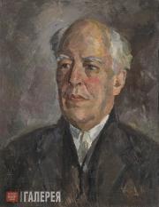Falk Robert. Portrait of Konstantin Stanislavsky. 1926