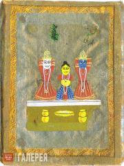 Kandinskaya Nina. Three Idols