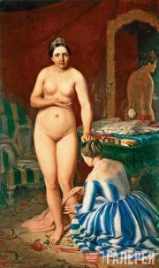 Venetsianov Alexei. Diana Dressing. 1847