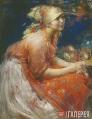 Архипов Абрам. Крестьянская девушка. 1915