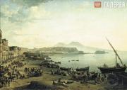 Shchedrin Sylvester. A View of Naples (Riviera di Chiaia). 1826