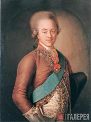 Ivan ARGUNOV. Portrait of Count N.P. Sheremetyev. 1775-early 1780s