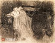 Ghe Nikolai. Christ Kissing the Thief. 1893