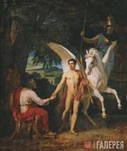 Ivanov Alexander. Bellerophon Sets Out Against the Chimera. 1829