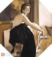 Serov Valentin. Female Model. 1905