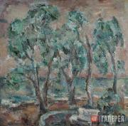 Yegoshin German. Olive Trees. 1979