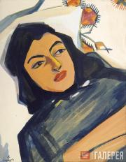 Saryan Martiros. Head of a Young Girl. 1912