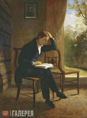 Joseph SEVERN. John Keats. 1821-1823