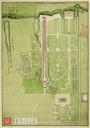 Pierre-Antoine de Saint-Hilaire.  Axonometric plan of the Empress's Private Dach