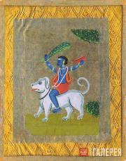 Kandinskaya Nina. On a Dog