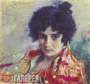 Serov Valentin. Portrait of an Unknown Woman. 1895