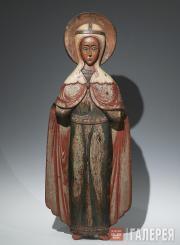 "The Great Martyr Paraskeva, named ""Friday"" (Pyatnitsa). Late 17th – early 18th c"