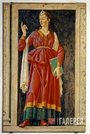 Андреа дель Кастаньо (Андреа ди Бартоло, до 1419–1457). Кумская Сивилла.