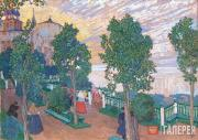 Golovin Alexander. Boulevard by the Volga