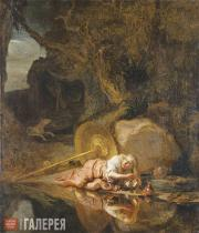 Carel FABRITIUS. Hera in Hiding with Oceanus and Tethys