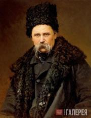 Kramskoi Ivan. Portrait of Taras Shevchenko. 1871