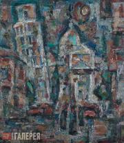 Г.П.ЕГОШИН. Пизанская башня. 1974