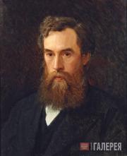 Kramskoi Ivan. Portrait of Pavel Tretyakov. 1876