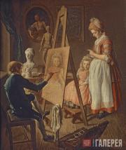 Фирсов Иван. Юный живописец. Вторая половина 1760-х